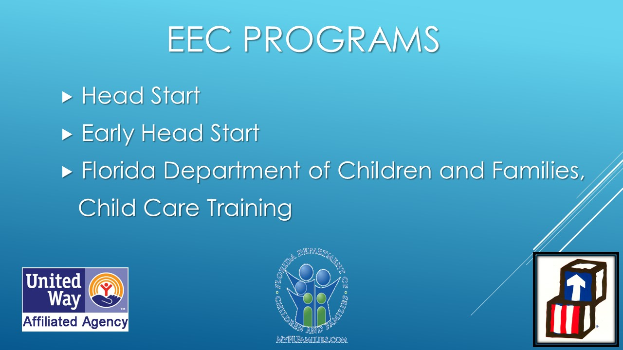 EEC PowerPoint Presentation 2016 | Early Education and Care, Inc